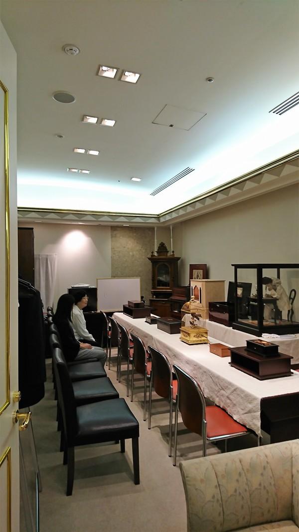 ホテル日航福岡B1のオルゴールサロンを2月11日限りで閉店のお知らせ