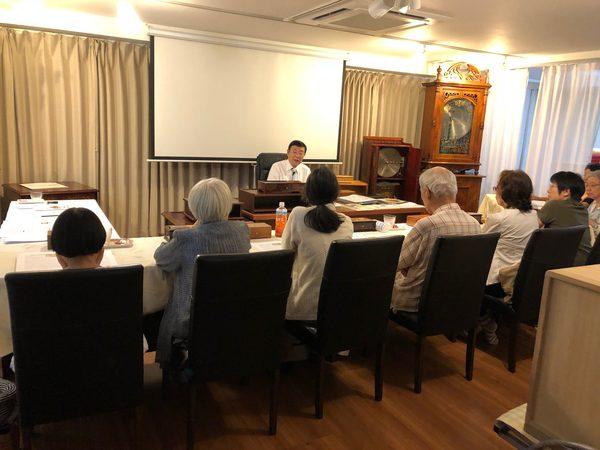 第17回オルゴール療法勉強会 東京本部にて開催